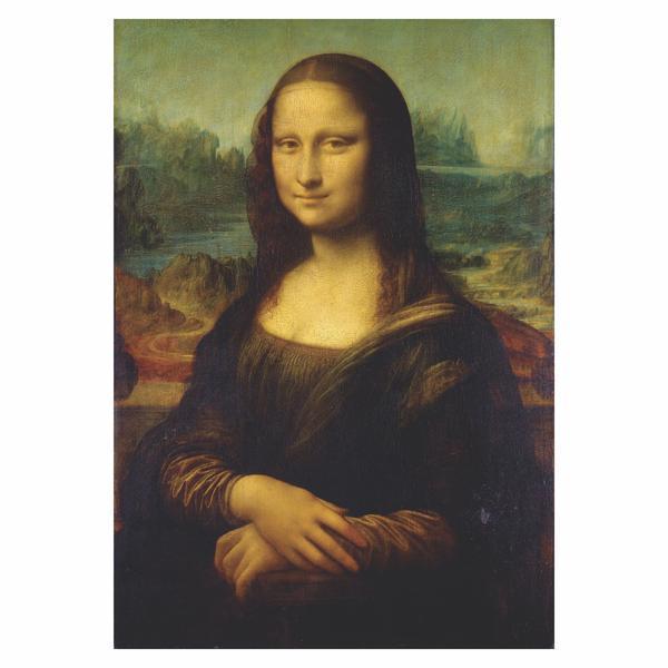 Tablou Canvas Mona Lisa, 50 x 70 cm, 100% Poliester