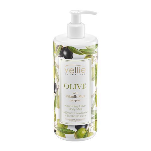 Lapte de corp cu ulei de masline, Vellie, 400 ml imagine produs