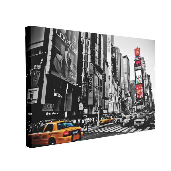 Tablou Canvas Times Square New York, 70 x 100 cm, 100% Bumbac