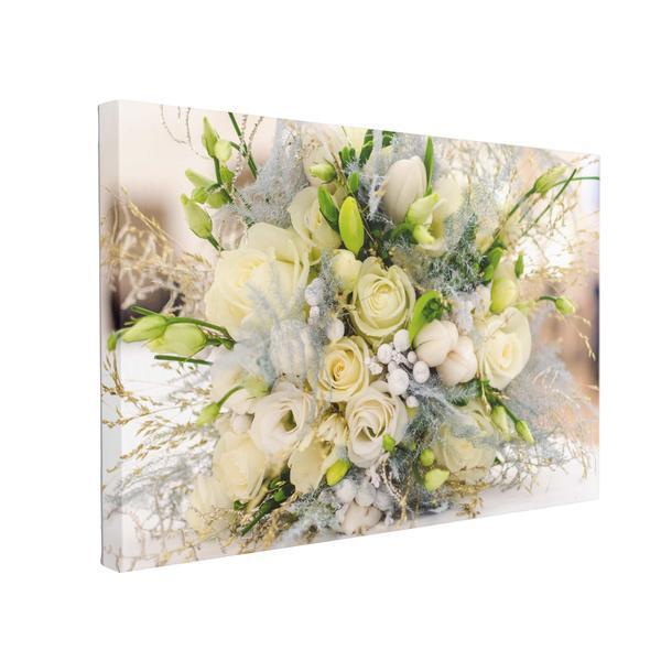 Tablou Canvas Buchet de Trandafiri, 40 x 60 cm, 100% Poliester