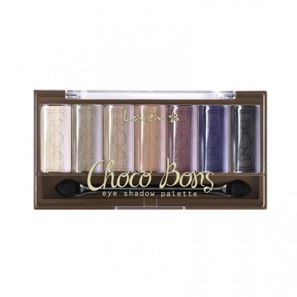 Paletă de farduri pentru pleoape Lovely Choco Bons, 6 g imagine