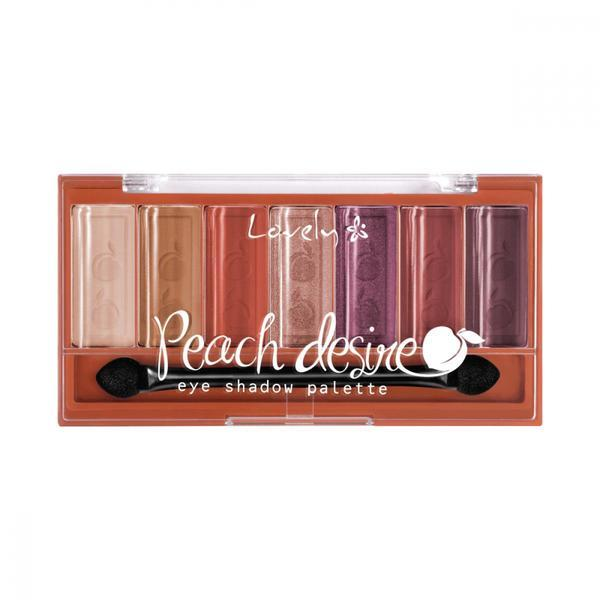 Paletă de farduri pentru pleoape Lovely Peach Desire, 6 g imagine