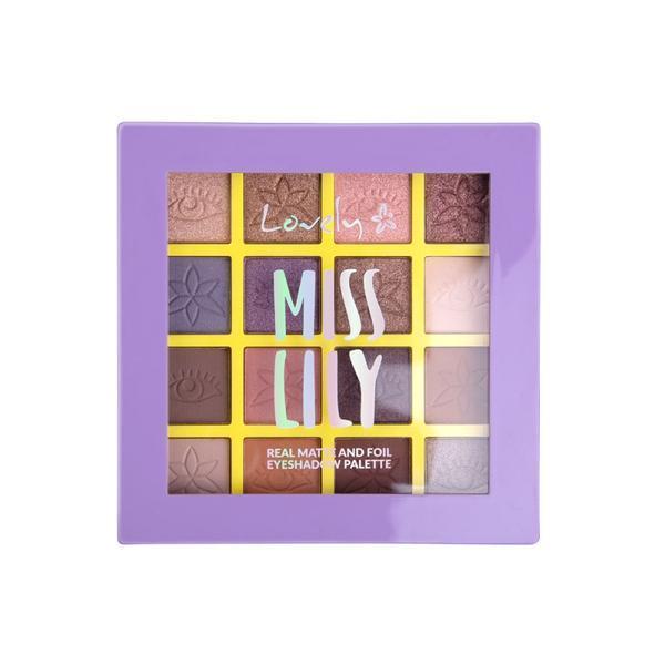 Paletă de farduri pentru pleoape Lovely Miss Lily, 13 g imagine
