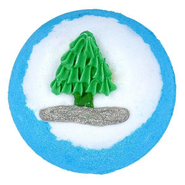 Bila de baie efervescenta Rocking Around the Christmas Tree Bomb Cosmetics 160 g imagine produs