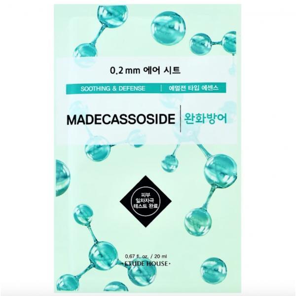 Mască Șervețel cu Madecassoside Etude House Therapy Air Mask 20ml imagine