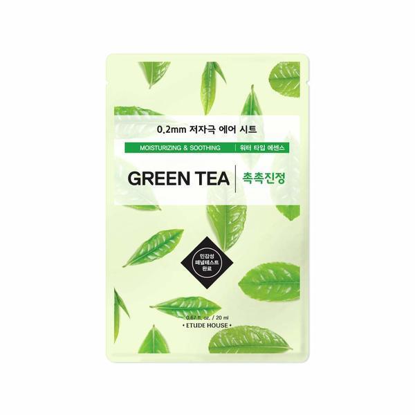 Mască Șervețel Ceai Verde Etude House Therapy Air Mask 20ml imagine