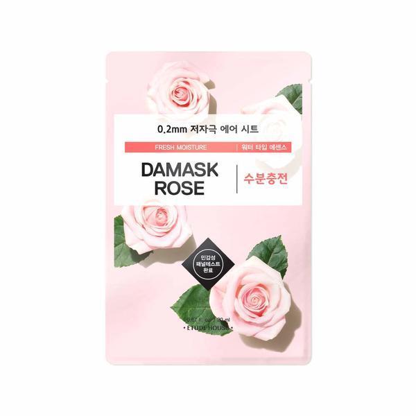 Mască Șervețel cu Trandafir de Damask Etude House Therapy Air Mask 20ml imagine