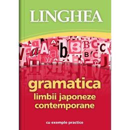 Gramatica limbii japoneze contempotane, editura Linghea
