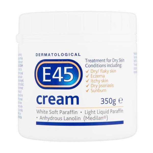 Crema dermatologica neparfumata pentru piele uscata E 45, 350 g imagine