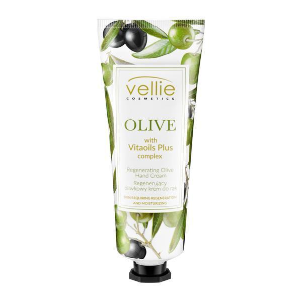 Crema de maini regeneratoare cu ulei de masline, Vellie, 75 ml imagine produs
