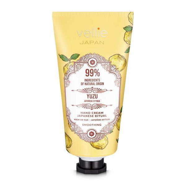 Crema de maini cu extract Yuzu,99% ingrediente naturale, Vellie, 50 ml imagine produs