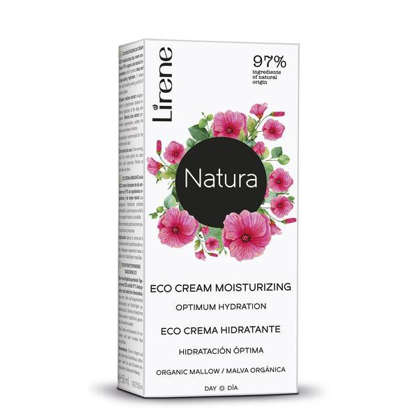 Crema de zi cu extract de nalba, 97% ingrediente organice si naturale, Lirene, 50 ml