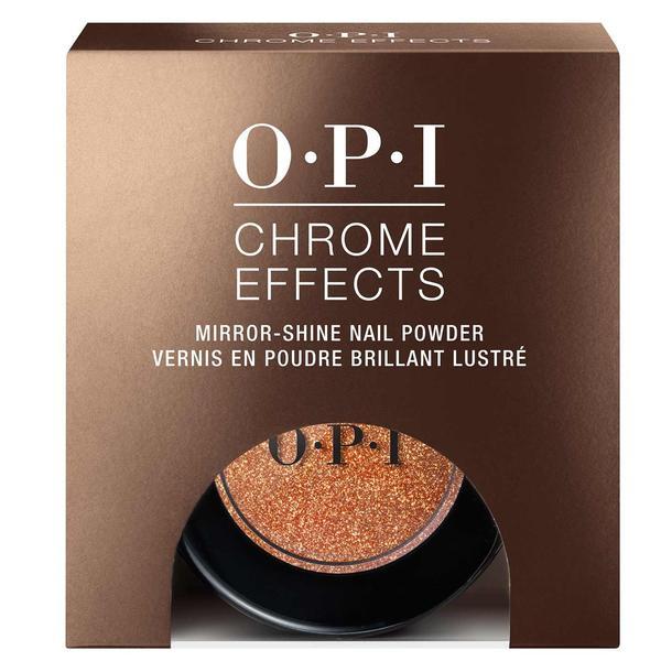 Pudra pentru Unghii cu Stralucire de Oglinda OPI - OPI Chrome Effects Mirror Shine Nail Powder Bronzed by the Sun, 3 g