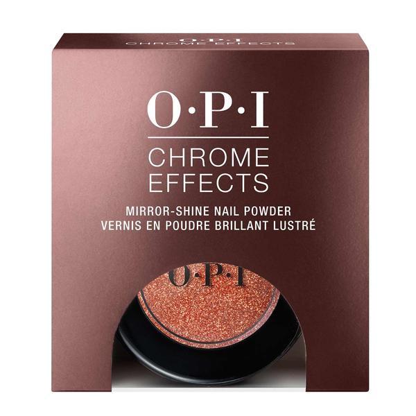 Pudra pentru Unghii cu Stralucire de Oglinda OPI - OPI Chrome Effects Mirror Shine Nail Powder Great Copper-Tunity, 3 g