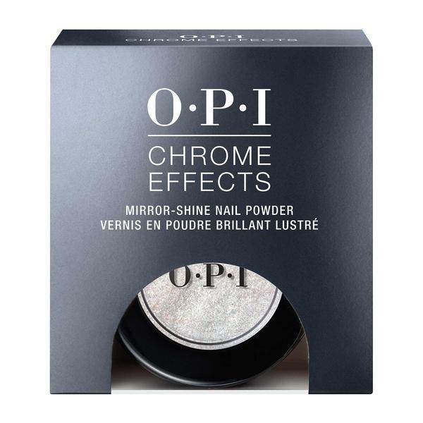 Pudra pentru Unghii cu Stralucire de Oglinda OPI - OPI Chrome Effects Mirror Shine Nail Powder Tin Man Can, 3 g esteto.ro