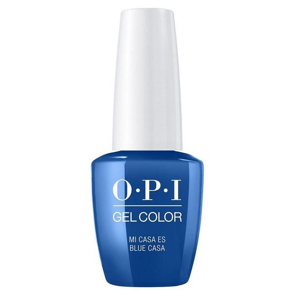 Lac de Unghii Semipermanent - OPI Gel Color Mexico Mi Casa Es Blue Casa, 15 ml
