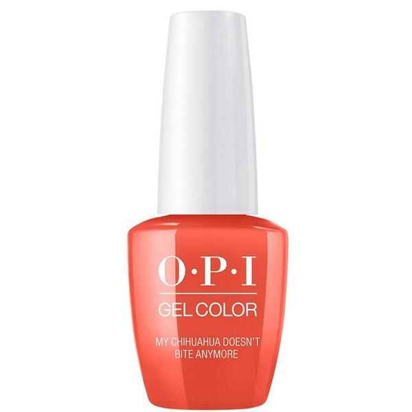 Lac de Unghii Semipermanent - OPI Gel Color Mexico My Chihuahua Doesn't Bite Anymore, 15 ml