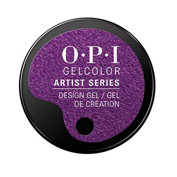 Gel Unghii Semipermanent pentru Design - OPI GelColor Artist Series Grape Minds Think Alike, 6 g imagine produs