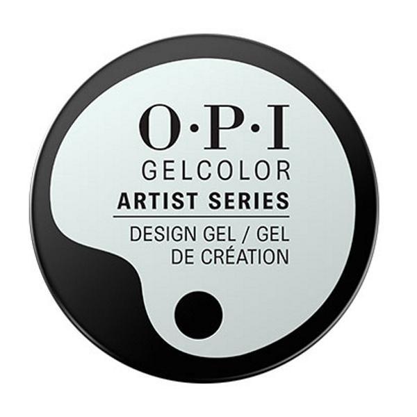 Gel Unghii Semipermanent pentru Design - OPI GelColor Artist Series The Time Is White, 6 g imagine produs