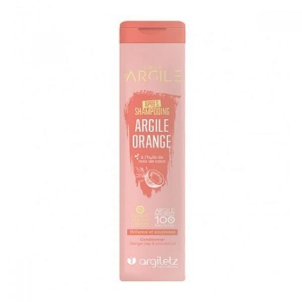 Sampon cu argila portocalie pentru par vopsit Argiletz 200ml imagine