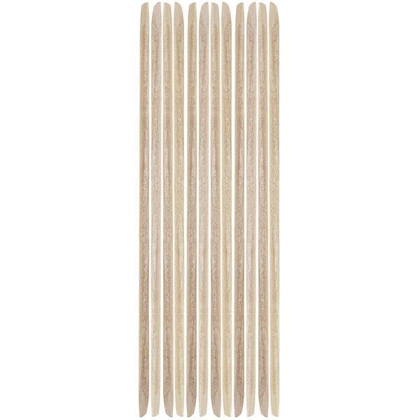 Betisoare din Lemn de Portocal pentru Cuticule - Jessica Orangewood Sticks, 12 buc imagine produs
