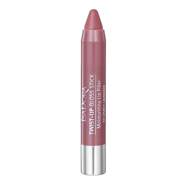 Ruj - Twist-Up Gloss Stick Isadora, nr 10 Lovely Lavender
