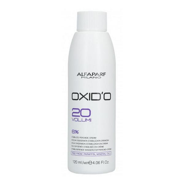 Oxidant Crema 6% - Alfaparf Milano Oxid'O 20 Volumi 6% 120 ml imagine produs
