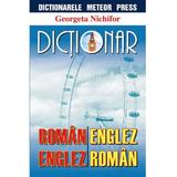 Dictionar roman-englez, englez-roman - Georgeta Nichifor, editura Meteor Press