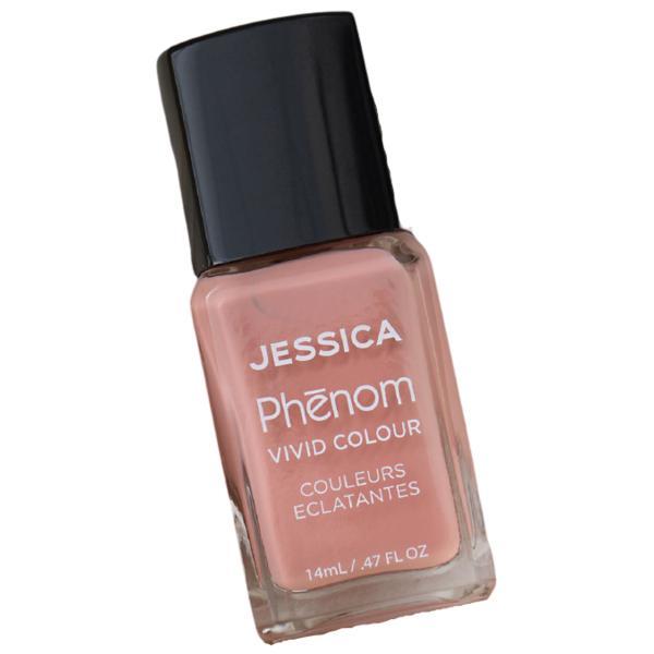 Lac de Unghii - Jessica Phenom Vivid Colour Blushing Beauty Chocolate Bronze, 14 ml imagine produs