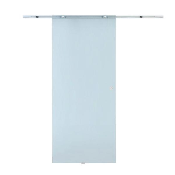 Usa glisanta cu sticla mata si maner Transparent 77.5 x 205 cm – Caerus Capital