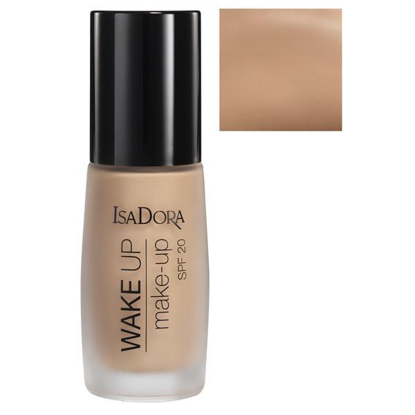 Fond de Ten - Wake Up Make-Up SPF 20 Isadora 30 ml, nuanta 08 Honey