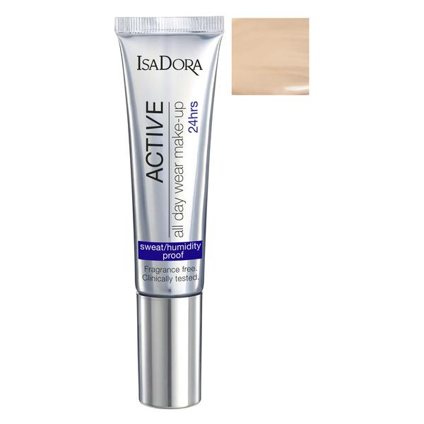 Fond de Ten - Active All Day Wear Make-Up Isadora 35 ml, nuanta 10 Fair