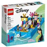 LEGO Disney Princess - aventuri din cartea de povesti cu mulan 5 ani+ (43174)