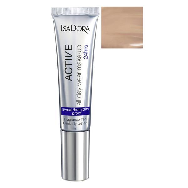 Fond de Ten - Active All Day Wear Make-Up Isadora 35 ml, nuanta 16 Warm Beige