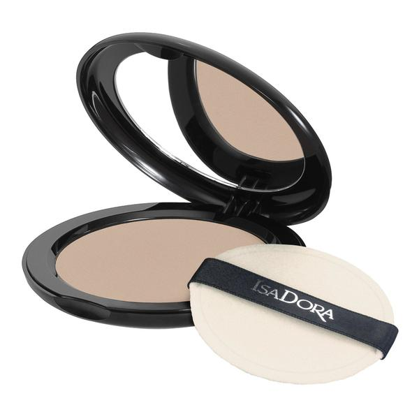Pudra Compacta - Velvet Touch Compact Powder Isadora 10 g, nuanta 13 Soft Nougat