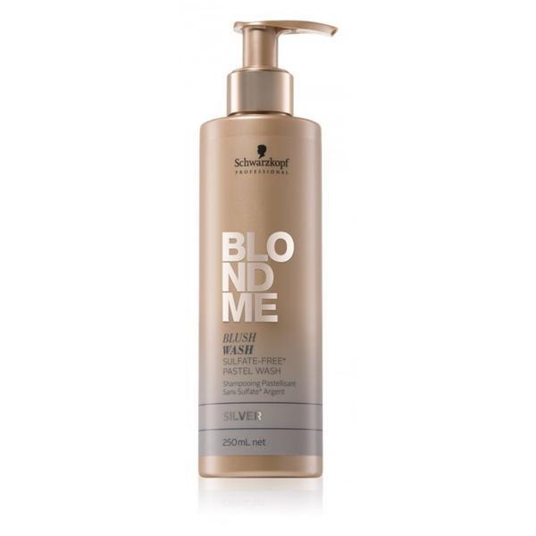Sampon Nuantator pentru Par Blond - Schwarzkopf Blond Me Shampoo Silver, 250ml imagine produs