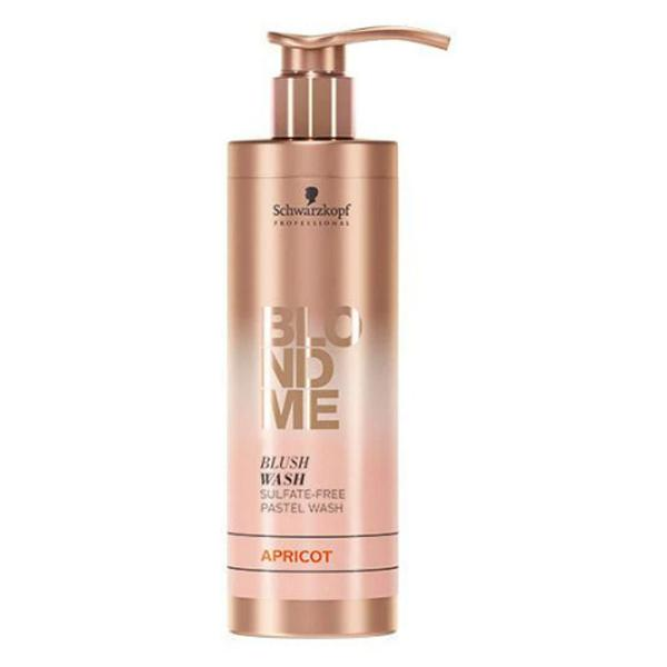 Sampon Nuantator pentru Par Blond - Schwarzkopf Blond Me Shampoo Apricot, 250ml imagine produs