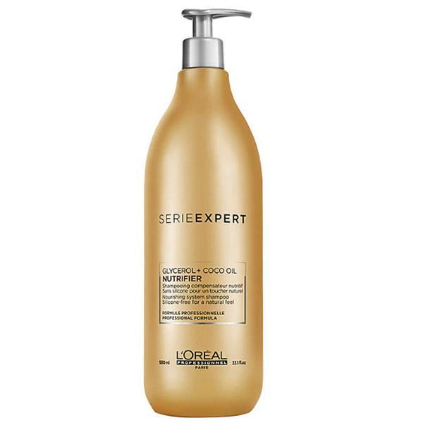 Sampon pentru Par Uscat - L'Oreal Professionnel Serie Expert Nutrifier Shampoo, 980 ml imagine