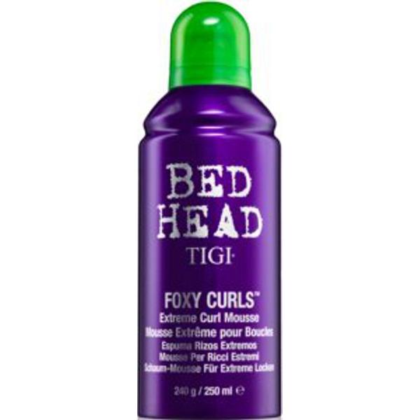 Spuma de Par pentru Fixarea Buclelor - Tigi Bed Head Foxy Curls Extreme Curl Mousse, 240 ml imagine
