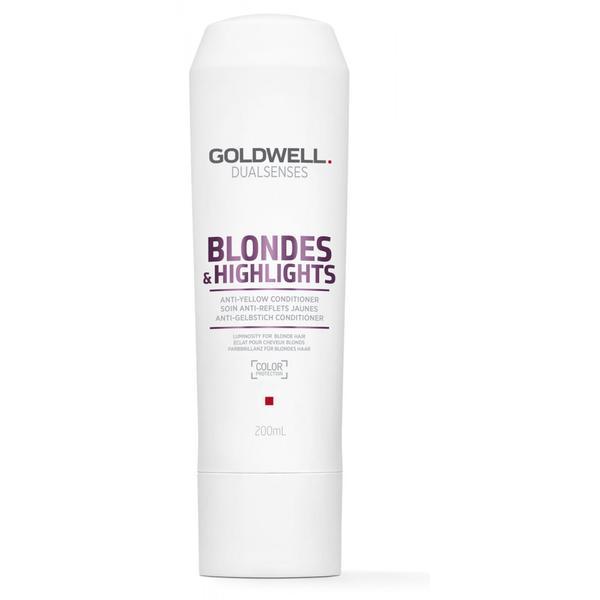 Balsam pentru Par Blond - Goldwell Dualsenses Blondes & Highlights Conditioner 200 ml esteto.ro