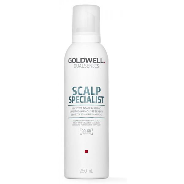 Sampon pentru Scalp Sensibil - Goldwell Dualsenses Scalp Specialist Foam Shampoo 250 ml imagine