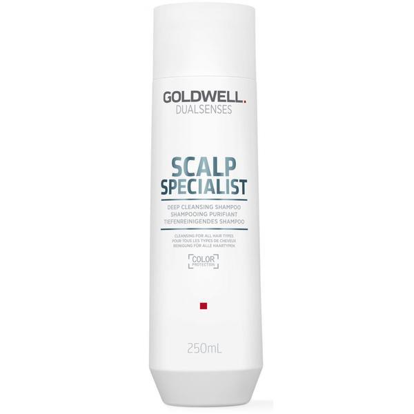 Sampon Curatare Profunda pentru Toate Tipurile de Par - Goldwell Dualsenses Scalp Specialist, 250 ml imagine