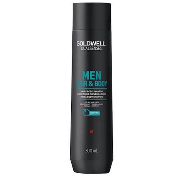Sampon Barbati pentru Par si Corp - Goldwell Dual Senses Men Hair & Body Shampoo, 300 ml imagine