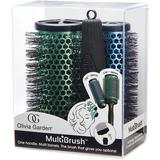 Set Perii de Par - Olivia Garden MultiBrush: Perie Rotunda - Olivia Garden Multi Brush Barrel 36 mm; Perie Rotunda - Olivia Garden Multi Brush Barrel 56 mm; Maner