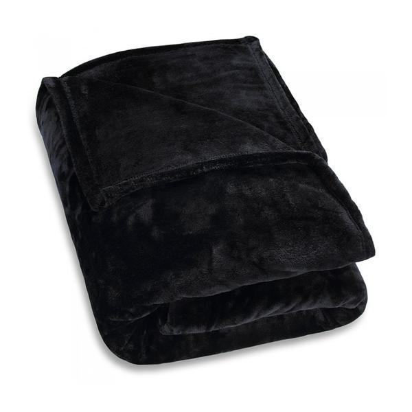 Cuvertura de pat Premium, Negru, 150 x 200 cm – Caerus Capital
