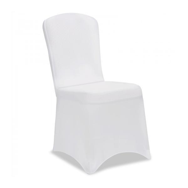 Husa elastica pentru scaun, Alb – Caerus Capital