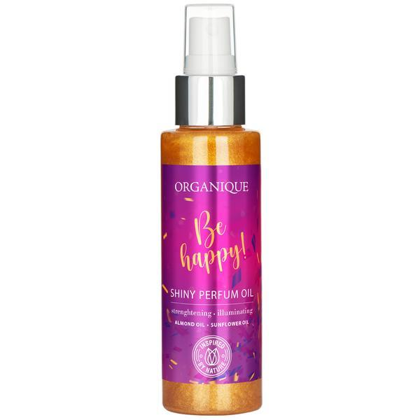 Ulei parfumat stralucitor Be Happy, Organique, 100 ml poza