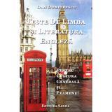 Teste de limba si literatura engleza - Dan Dumitrescu, editura Sanda