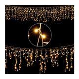 Instalatie luminoasa tip perdea, 10 m, 200 LED-uri - Caerus Capital