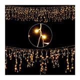 Instalatie luminoasa tip perdea, 10 m, 400 LED-uri  - Caerus Capital